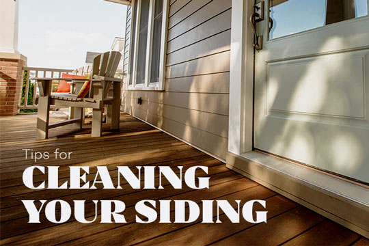 Tips for Cleaning Your Siding