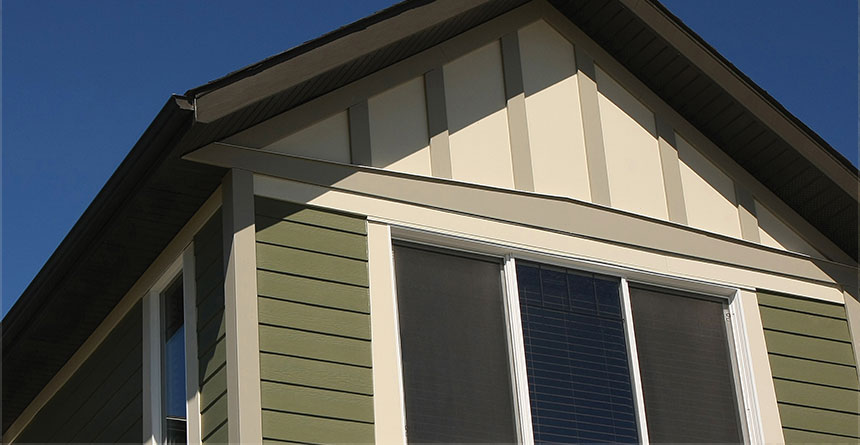 HardiePanel® Vertical Siding Board and Batton Style