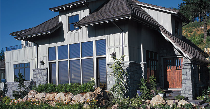 HardiePanel® Vertical Siding Home