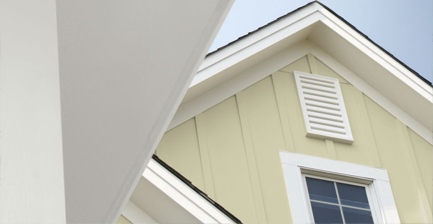 Wide HardieTrim® Boards on Home